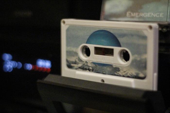 """Neptunien's """"Émergence"""" (Cassette Tape Format)"""